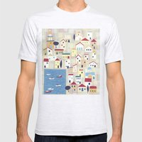 Halki Mens Fitted Tee Ash Grey SMALL