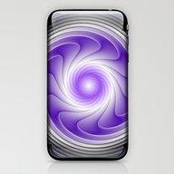 The Power Of Purple Digi… iPhone & iPod Skin