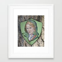 Link Framed Art Print