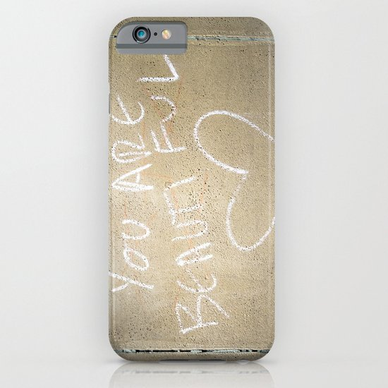 Smile, You Are Beautiful! iPhone & iPod Case