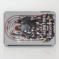Lord of MAgnetism and Wizardry iPad Case