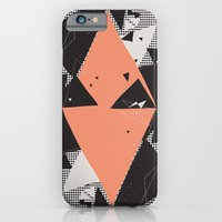 iPhone & iPod Case featuring Exploding Triangles//Seven by Party in the Mountains