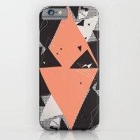 Exploding Triangles//Sev… iPhone 6 Slim Case