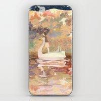 Swan Boat iPhone & iPod Skin