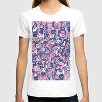 city T-shirts featuring city by Regina Rivas Bigordá