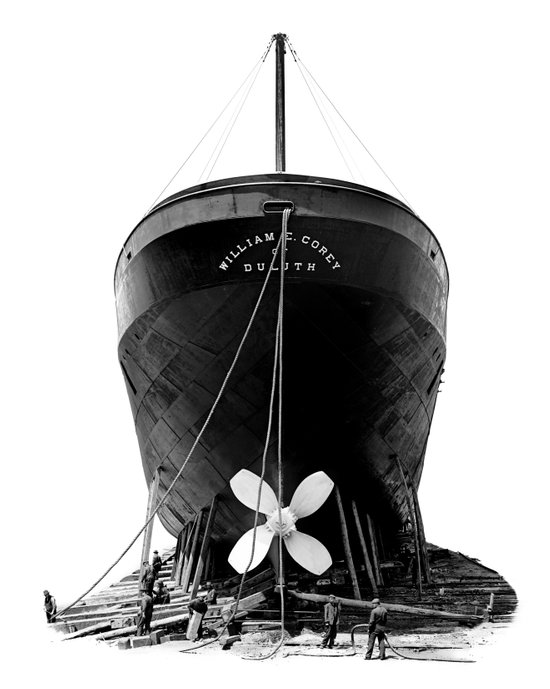 Ship William E. Corey Art Print