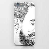 yves's beard iPhone 6 Slim Case
