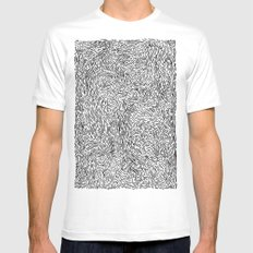 SquiBBlies SMALL White Mens Fitted Tee