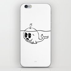Moby Skull iPhone & iPod Skin