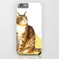 iPhone & iPod Case featuring Cute Tabby Cat by eastwitching