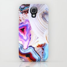Agate, a vivid Metamorphic rock on Fire Galaxy S4 Slim Case
