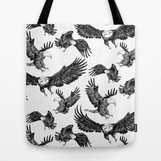 Eagles Pattern Tote Bag