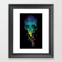 THE FORBIDDEN BUTTERFLIE… Framed Art Print