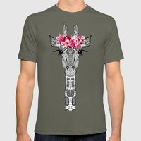 FLOWER GIRL Mens Fitted Tee Lieutenant SMALL