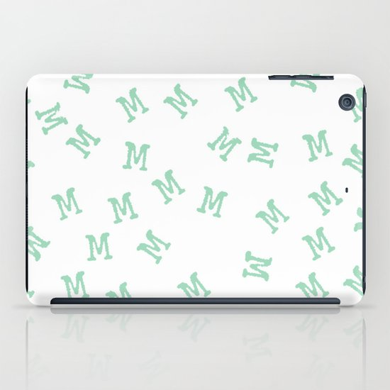 M is for Mint iPad Case