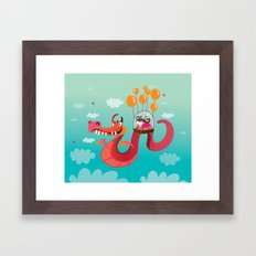 Dragona Framed Art Print