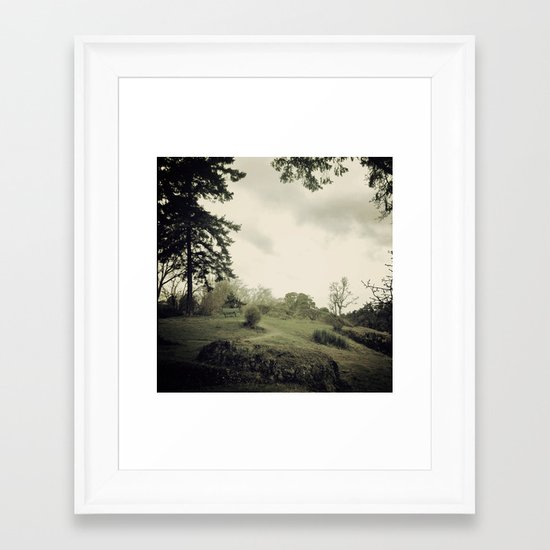 Thinking... Framed Art Print