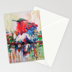 colorful bird- nature  Stationery Cards