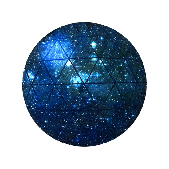 Star Geodesic Art Print