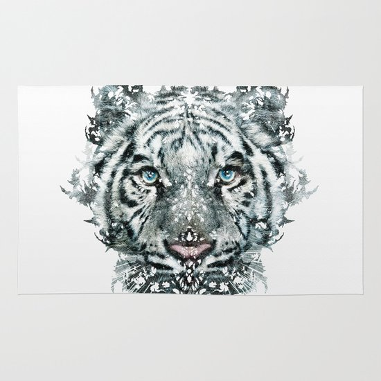 The White Tiger (Classic Version) Area & Throw Rug