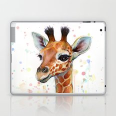 Giraffe Baby Laptop & iPad Skin