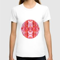 Summer Blossom Womens Fitted Tee White SMALL