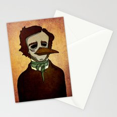 Prophets of Fiction - Edgar Allan Poe /The Raven Stationery Cards