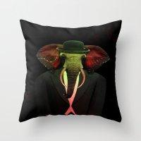 Elephant Man 017 Throw Pillow