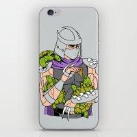 Ninja Pets iPhone & iPod Skin