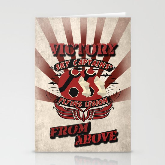 Flying Legion Stationery Card