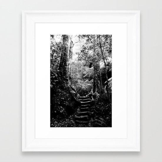 Blue Mountain / Australia Framed Art Print
