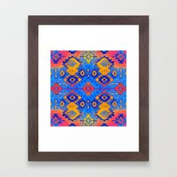 jemez in salivate Framed Art Print