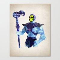 Polygon Heroes - Skeleto… Canvas Print