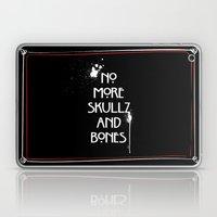 NoMoreSkullz&Bones Laptop & iPad Skin