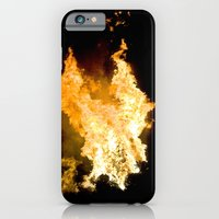 Face in the Flames iPhone 6 Slim Case
