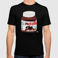 Nutella Mens Fitted Tee Black SMALL