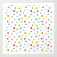 Chickweed Mid Dots Art Print