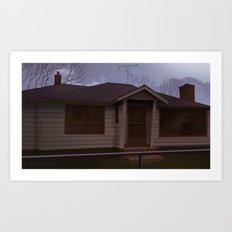 Hurley House Art Print