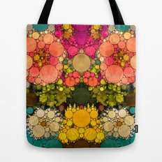 Perky Flowers! Tote Bag