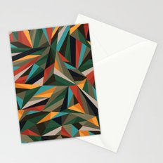 Sliced Fragments II Stationery Cards