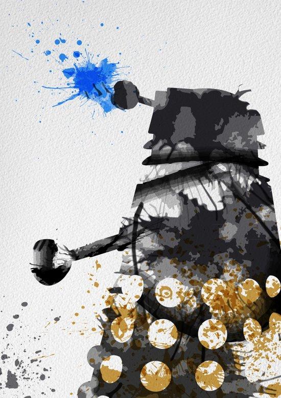 Doctor Who Dalek Art Print