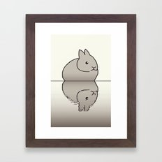 rabbit-15 Framed Art Print