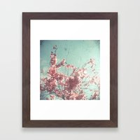 Candy Floss Framed Art Print