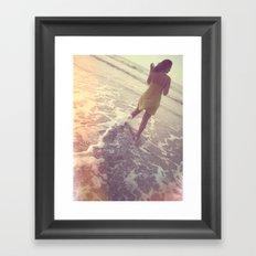 Summer Dreams Framed Art Print