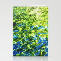 Water As Painting Stationery Cards