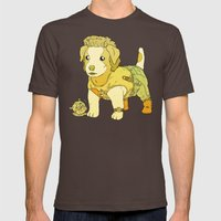 Kurt Russell Terrier - Jack Burton Mens Fitted Tee Brown SMALL
