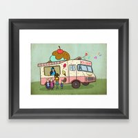 Dream Car Framed Art Print