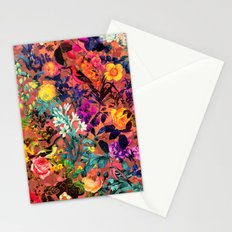 Floral and Birds II Stationery Cards