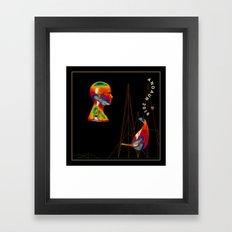 Future Framed Art Print
