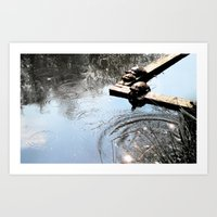 Turtles Play Art Print